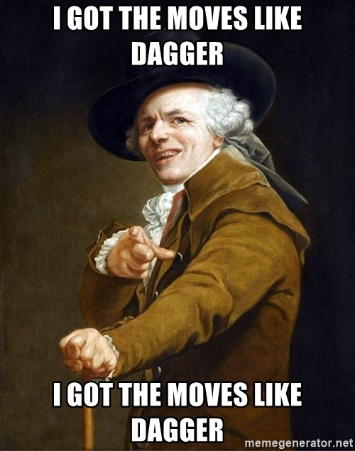 Joseph Ducreaux - I got the moves like DAGGER I GOT THE MOVES LIKE DAGGER