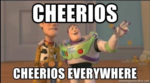 X, X Everywhere  - Cheerios cheerios everywhere