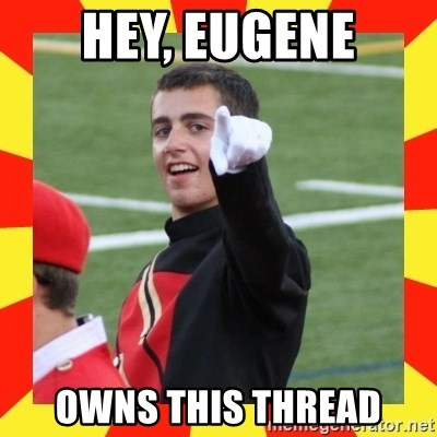 lovett - Hey, Eugene Owns this thread