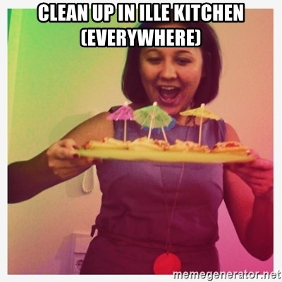 Typical_Ksyusha - CLEAN UP IN ILLE KITCHEN(EVERYWHERE)