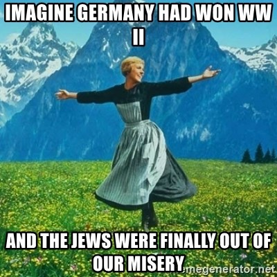 Julie Andrews looking for a fuck to give - imagine germany had won ww ii and the jews were finally out of our misery
