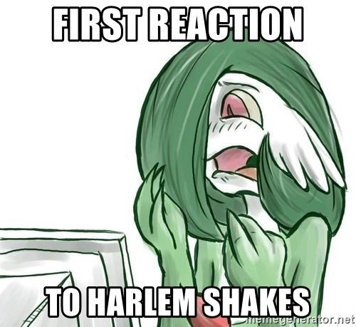 Pokemon Reaction - First reaction to Harlem shakes