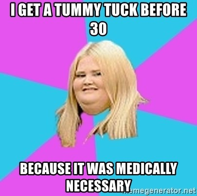I Get A Tummy Tuck Before 30 Because It Was Medically Necessary