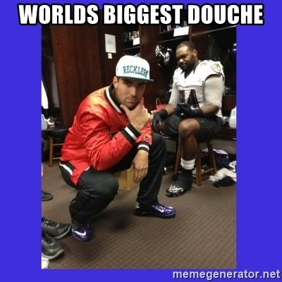 PAY FLACCO - WORLDS BIGGEST DOUCHE