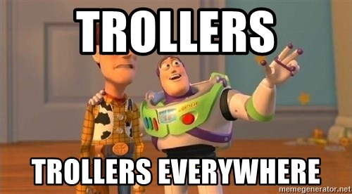 Consequences Toy Story - trollers trollers everywhere