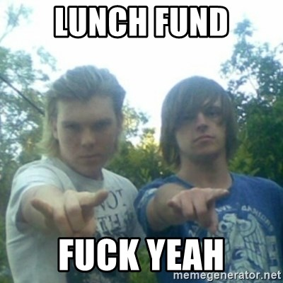 god of punk rock - lunch fund fuck yeah