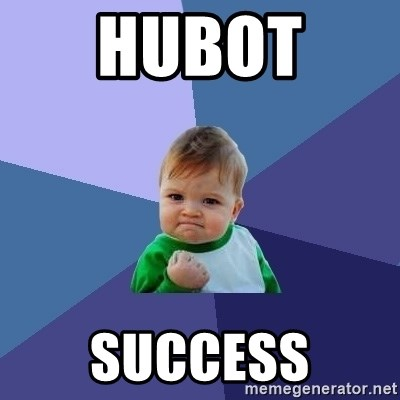 Success Kid - hubot  SUCCESS