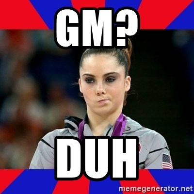 Mckayla Maroney Does Not Approve - GM? DUH