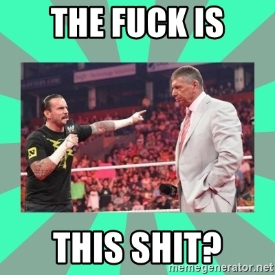 CM Punk Apologize! - THE FUCK IS THIS SHIT?
