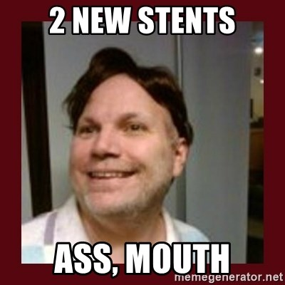 Free Speech Whatley - 2 new stents Ass, mouth