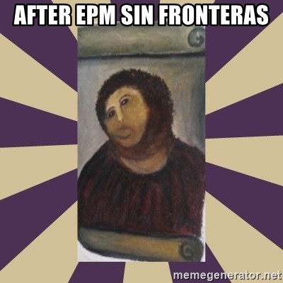 Retouched Ecce Homo - After EPM SIN FRONTERAS