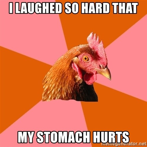 Anti Joke Chicken - i laughed so hard that my stomach hurts