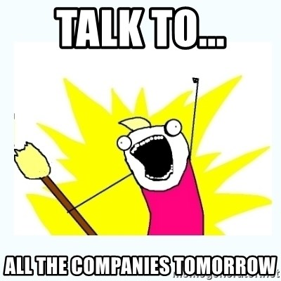 All the things - Talk to... All the companies tomorrow