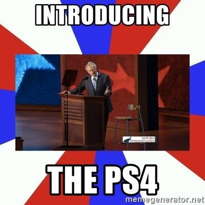 Invisible Obama - introducing  the PS4