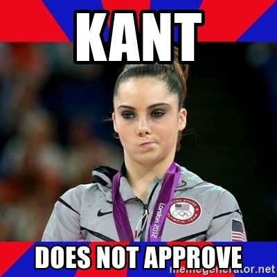 Mckayla Maroney Does Not Approve - Kant does not approve