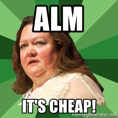 Dumb Whore Gina Rinehart - ALM It's Cheap!