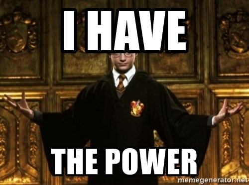 Harry Potter Come At Me Bro - I have the power
