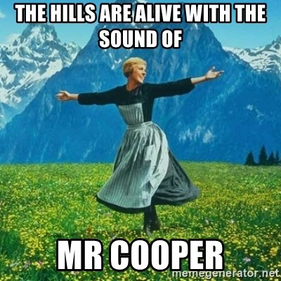 Julie Andrews looking for a fuck to give - the hills are alive WITH THE SOUND OF mr cooper