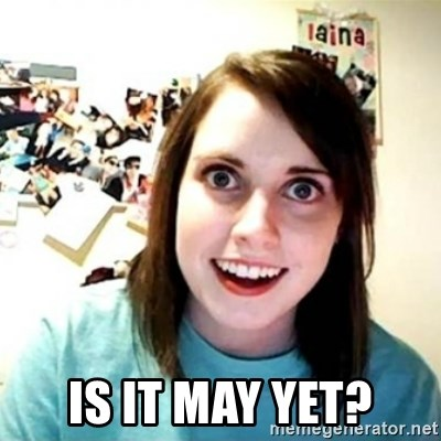 Overly Attached Girlfriend creepy -  Is it may yet?