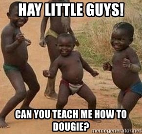 african children dancing - hay little guys! can you teach me how to dougie?