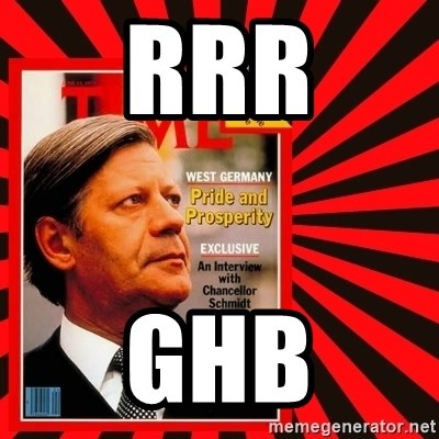 Helmut looking at top right image corner. - RRR GHB