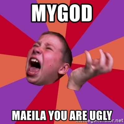 Sasha Hater2 - MYGOD MAEILA YOU ARE UGLY