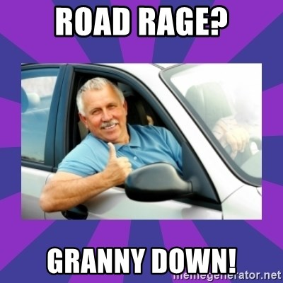 Perfect Driver - ROAD RAGE? GRANNY DOWN!