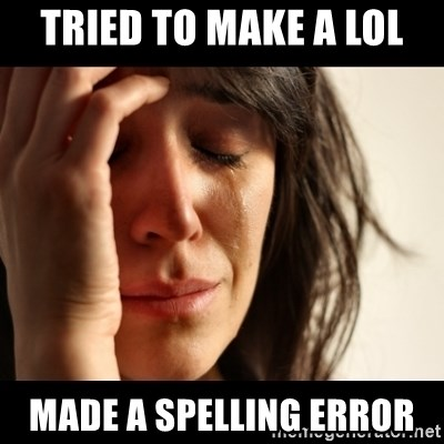 crying girl sad - tried to make a lol made a spelling error
