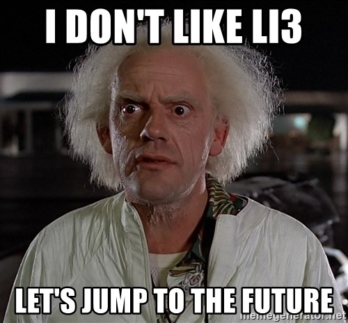 Back To The Future Doctor - I don't like li3 Let's jump to the future