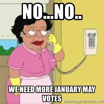 Family guy maid - No...No.. We need more january may votes