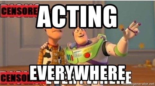 Toy Story Everywhere - Acting everywhere