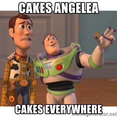 Toy story - Cakes angelea cakes everywhere