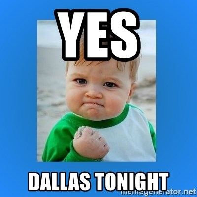 yes baby 2 - Yes Dallas Tonight