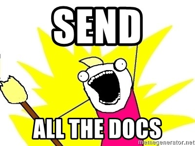 X ALL THE THINGS - Send all the docs