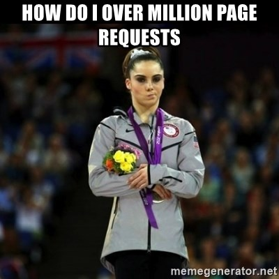 Unimpressed McKayla Maroney - How do I Over million page requests