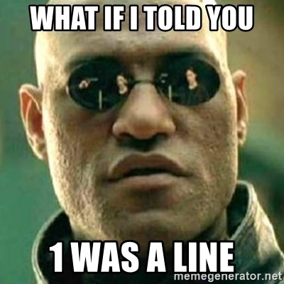 what if i told you matri - what if i told you 1 was a line