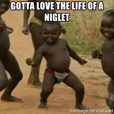 Black Kid - GOTTA LOVE THE LIFE OF A NIGLET
