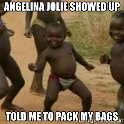 Black Kid - ANGELINA JOLIE SHOWED UP TOLD ME TO PACK MY BAGS