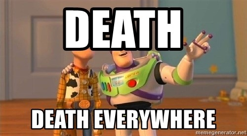 Consequences Toy Story - death death everywhere