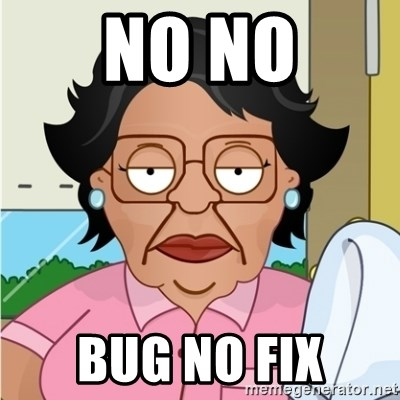 Consuela - NO NO BUG nO FIX