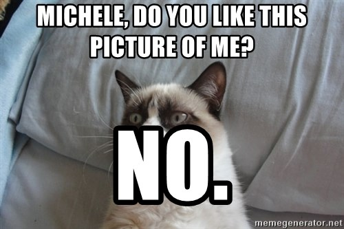 Grumpy cat good - mICHELE, DO YOU LIKE THIS PICTURE OF ME? NO.