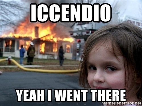 Disaster Girl - Iccendio Yeah i went there