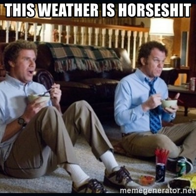 step brothers - This weather is horseshit