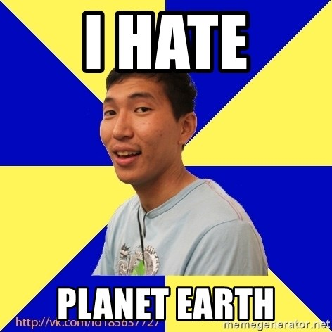 Jerk Aldarik - i hate planet earth
