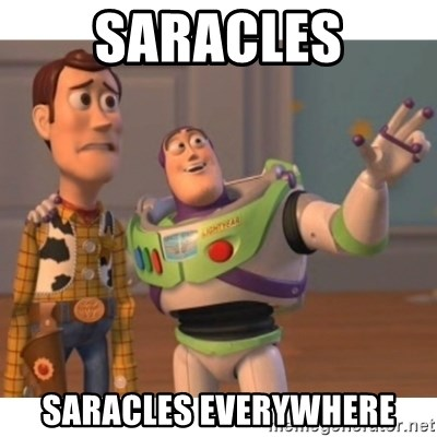Toy story - Saracles Saracles Everywhere
