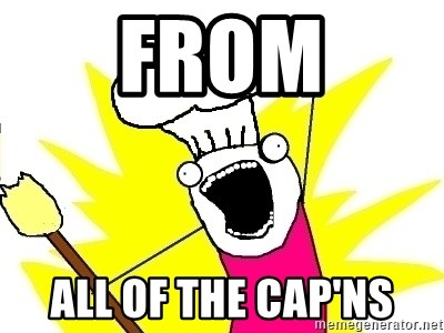 BAKE ALL OF THE THINGS! - From All of the cap'ns
