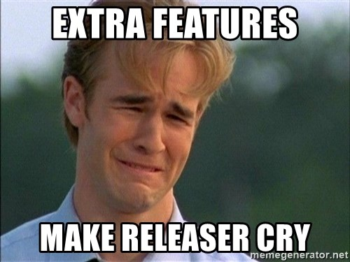 Do Not Want - Extra Features Make releaser cry