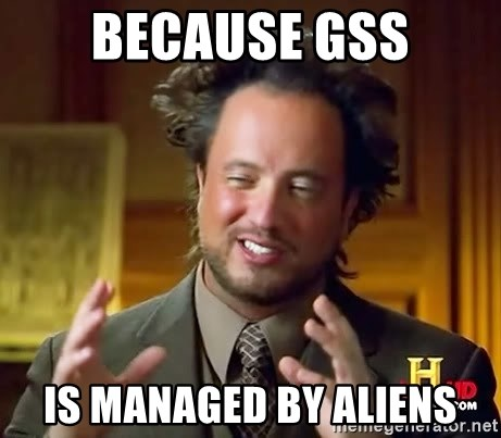 Ancient Aliens - BeCause GSS Is managed by aliens