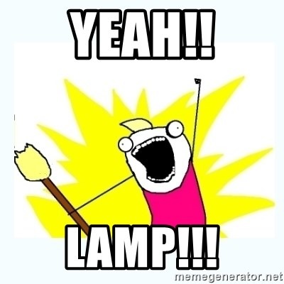 All the things - yeah!! Lamp!!!