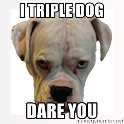 stahp guise - I triple dog  DARE YOU